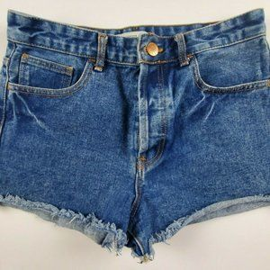 Forever 21 Button Fly Booty Jean Shorts
